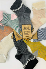 Stripe Lounge Socks