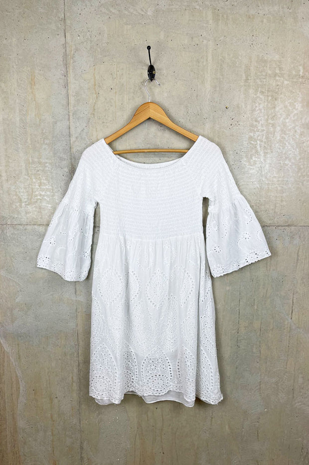 Womens White Summer Dress