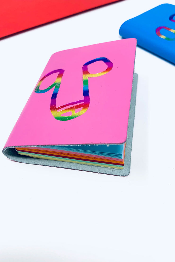 Willy Notepad Rainbow Colour