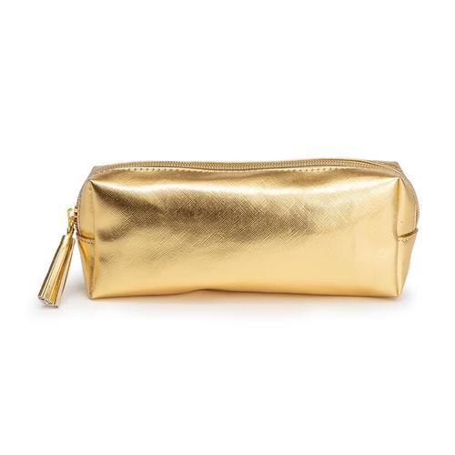 Metallic Gold Pencil Case