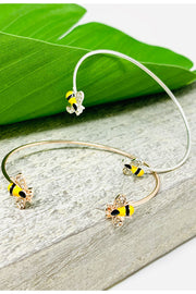 Bee enamel Bangle