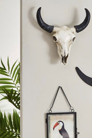 Buffalo Desert Skull Wall Decor- Small