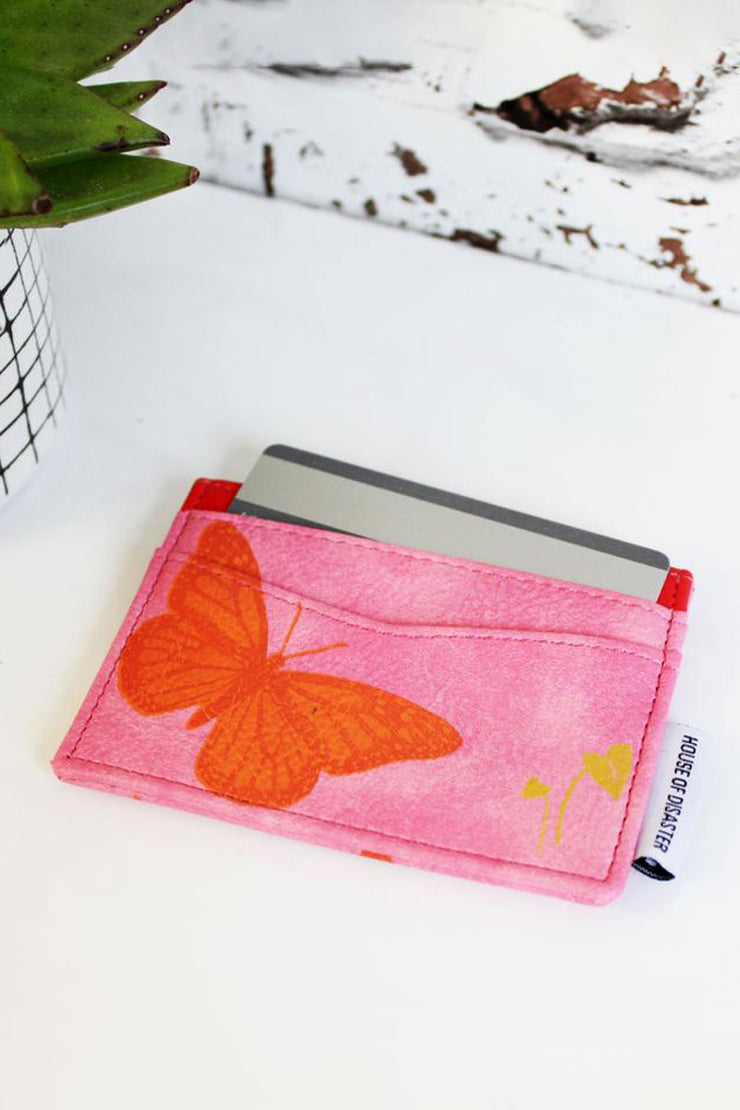 House of Disaster Butterfly Card Holder