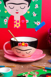 frida tea cup and saucer