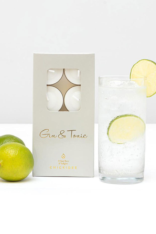 Gin & Tonic Tealights