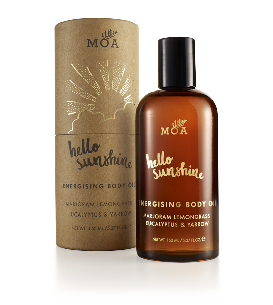 HELLO SUNSHINE ENERGISING BODY OIL