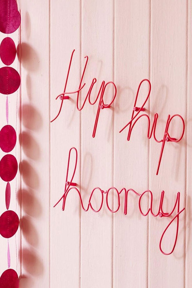 Hip Hip Hooray Wall Art