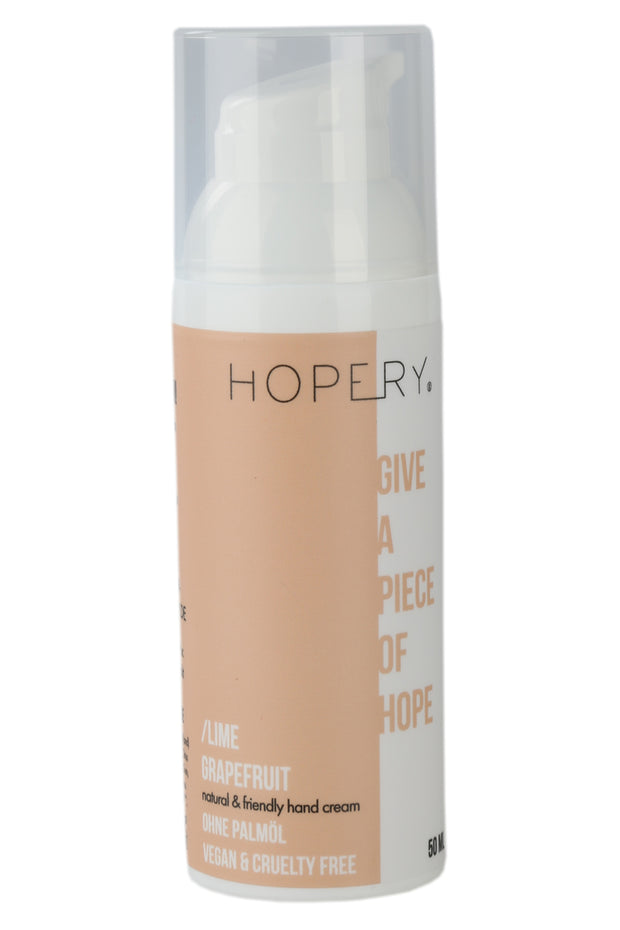 Hopery Lime and Grapefruit Hand Cream