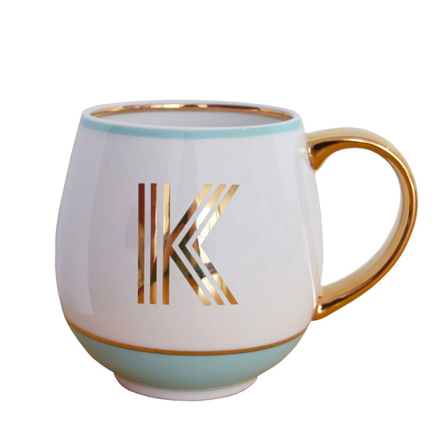 Bombay Duck Library Monogram Mug