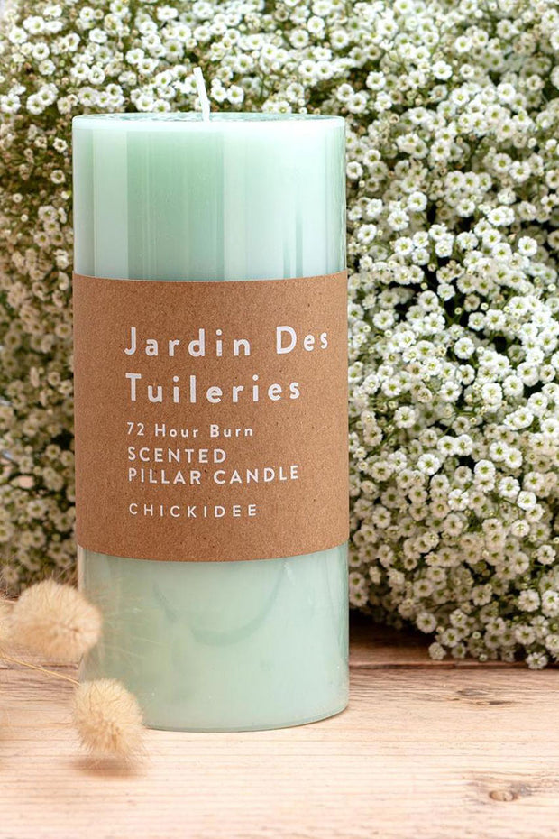Jardin De Tulleries Pillar Candles - Lge