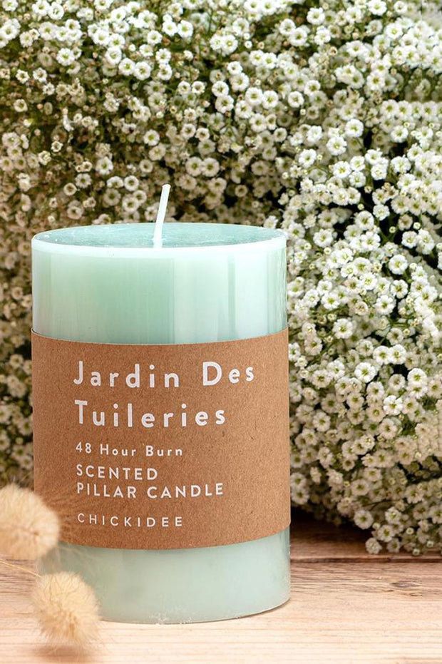 Jardin De Tulleries Pillar Candles - Med