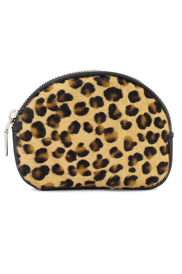 Animal Print Leather Purse