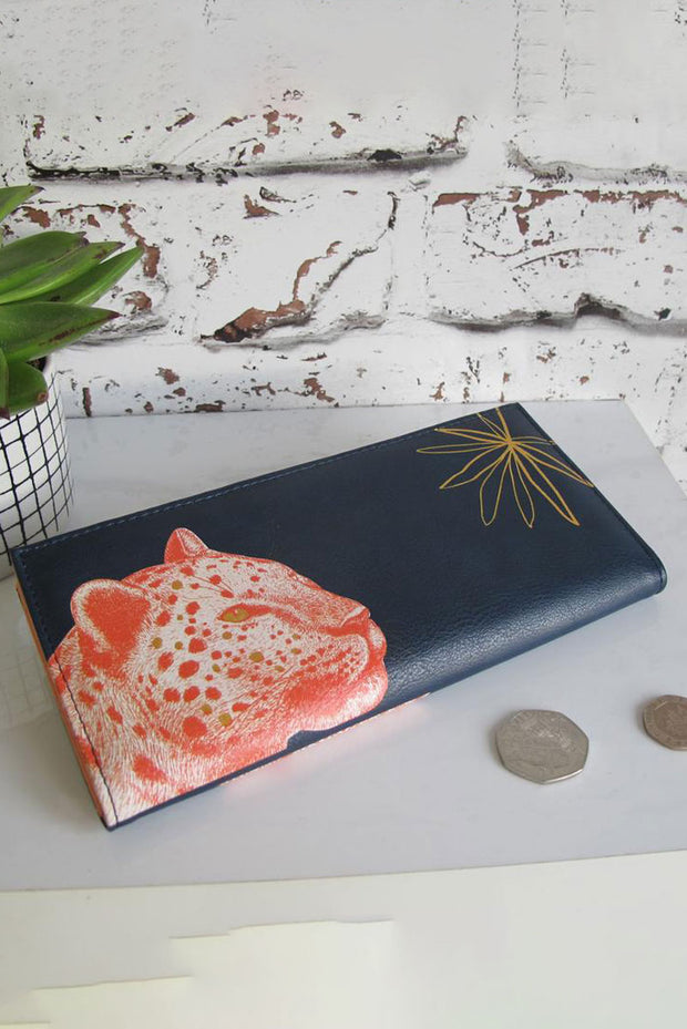 Disaster Designs Leopard Wallet