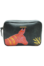 Orange Zebra Handbag Disaster Designs
