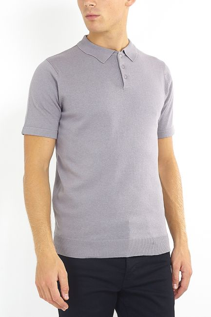 Cotton Short Sleeve Polo Shirt