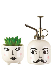 Sass And Belle Mister & Mrs Plant set