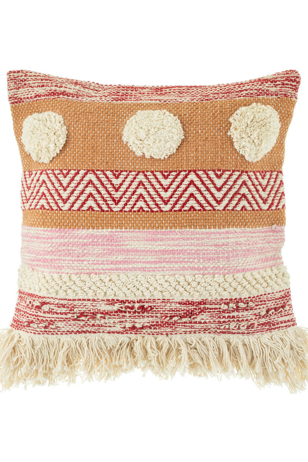 Scandi Pom Pom Cushion