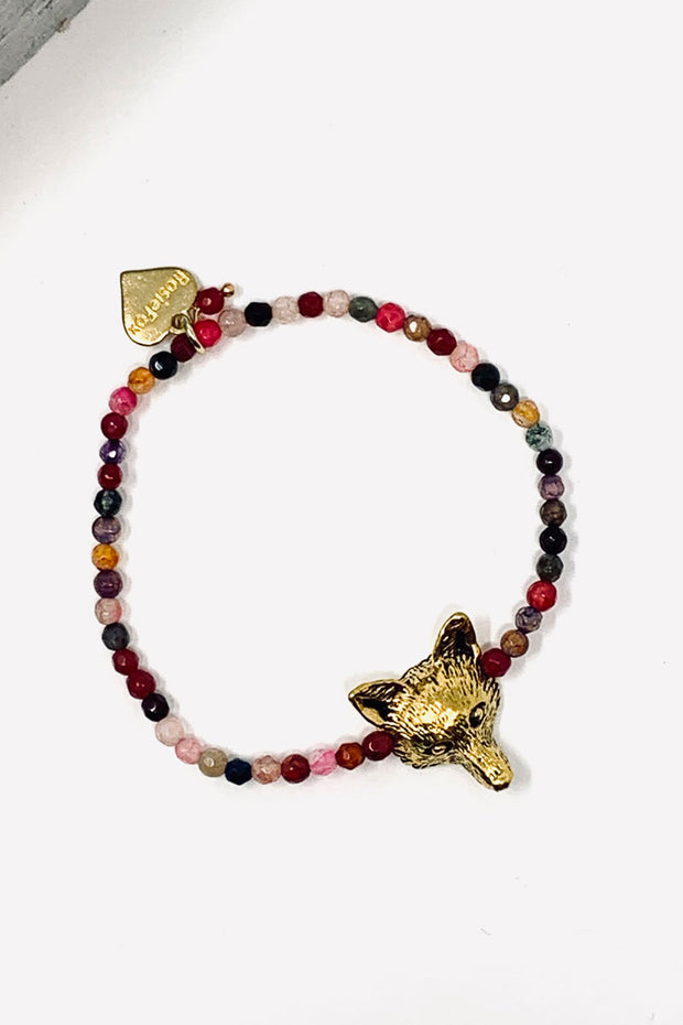 Rosie Fox Gemstone Fox Bracelet
