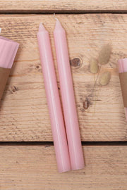Bois De Rose Tapered Candles