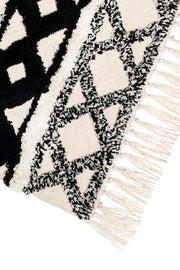Black & White Stripe Rug