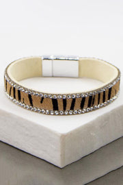 Horsehair Bracelet with Diamante