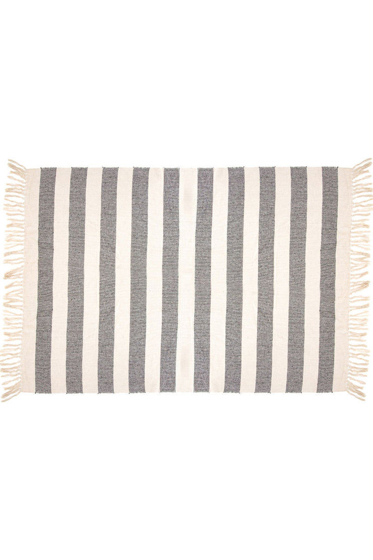 Stripe Throw from Sass & Belle