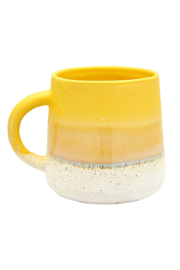 Sass and Belle Mojave Glaze Yellow Mug