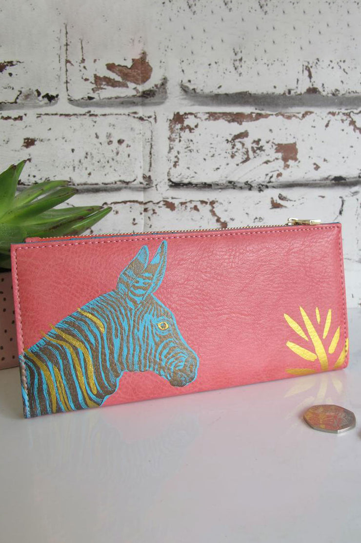 Disaster Designs Zebra Wallet
