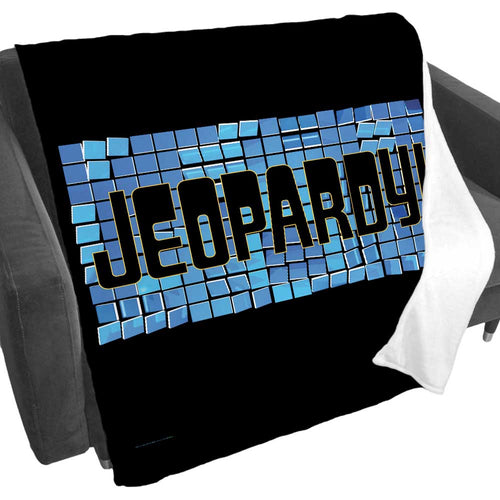 Jeopardy! Tile Logo Fleece Blanket