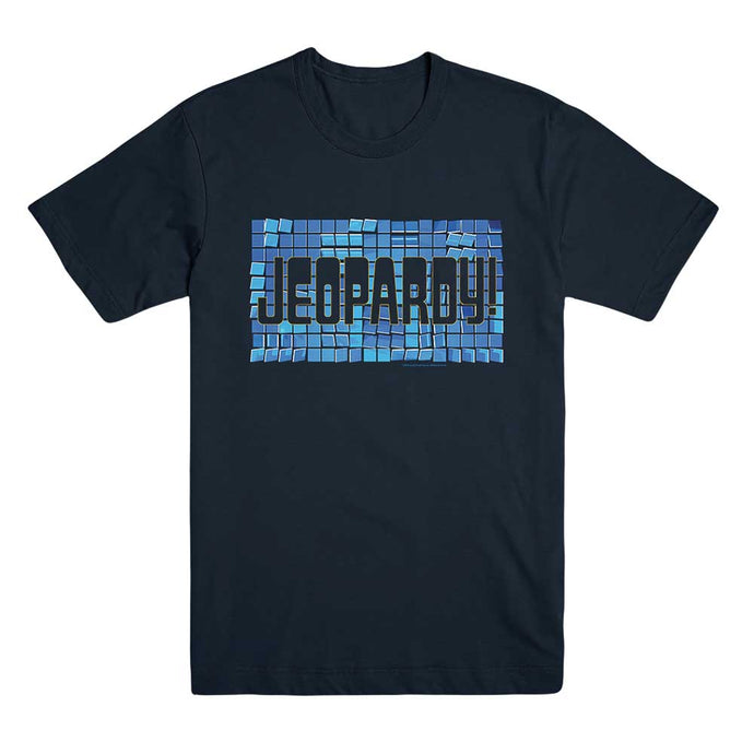 Jeopardy! Tile Logo Navy Tee