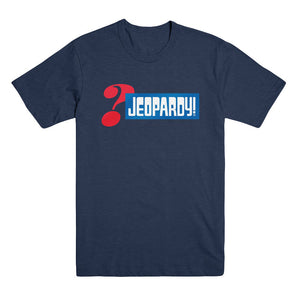Jeopardy! Logo Blue Tee