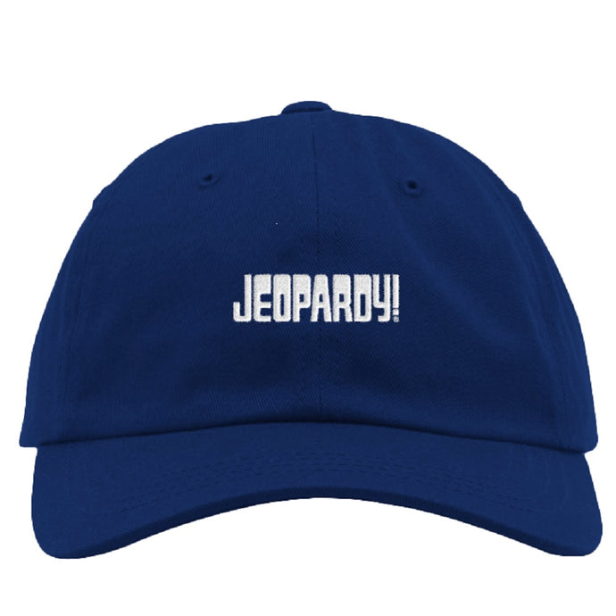 Jeopardy! Blue Logo Hat