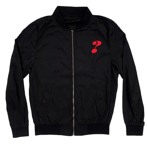 Jeopardy! Johnny's Jackets Black Bomber Jacket