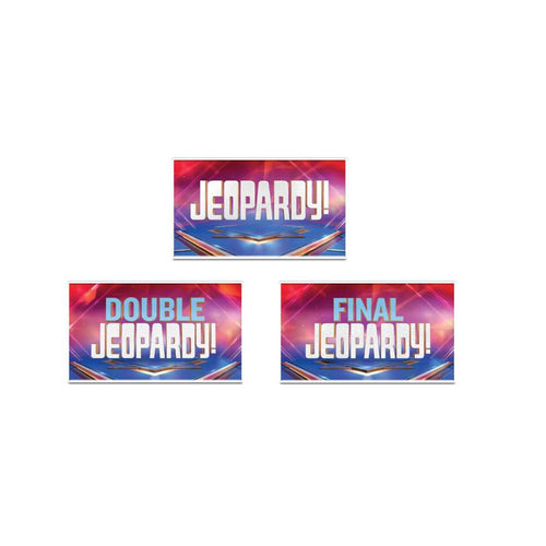 Jeopardy! 3 Pack Magnet Set