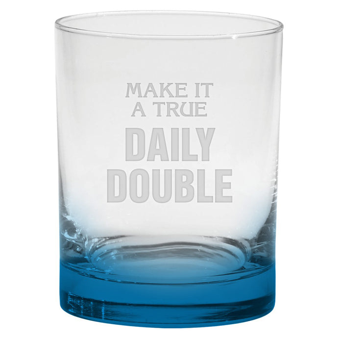 Jeopardy! Daily Double Whiskey Tumbler