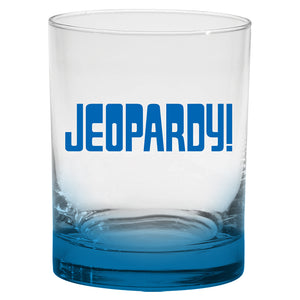 Jeopardy! Logo Whiskey Tumbler