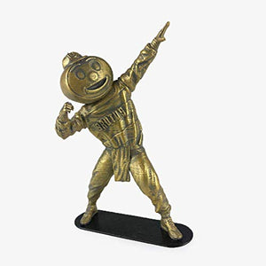 "Collectible 6"" Golden Brutus Buckeye Ohio State Mascot Lightning Pose"