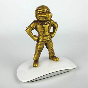 "Collectible 4"" Golden Herky the Hawk Iowa Hawkeyes Mascot"