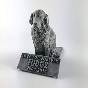 Customizable Dog Remembrance Figurine - Golden Retriever
