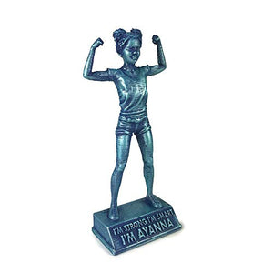 Girl Power: Tia: I'm Smart - customizable girls room decoration figurine