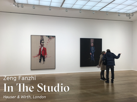 Zeng Fanzhi – In the Studio @ Hauser & Wirth, London