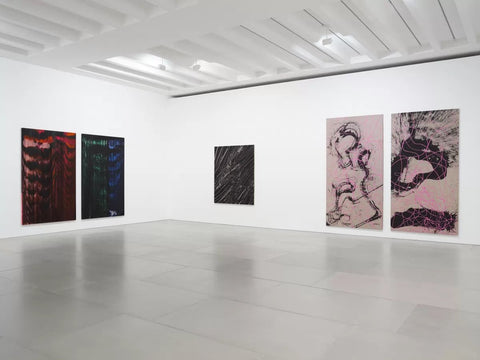 Review — Ed Moses & Qin Feng Blain Southern London
