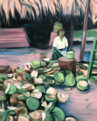 The Guy Who Splits Coconuts