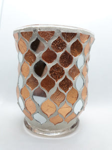 Mosaic Candle holder - Family Lights