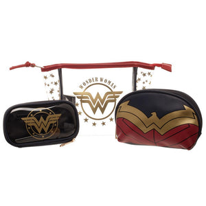 Wonder Woman Juniors Cosmetic 3 Piece Set - Superhero Supervillain - United States - superherosupervillain.com
