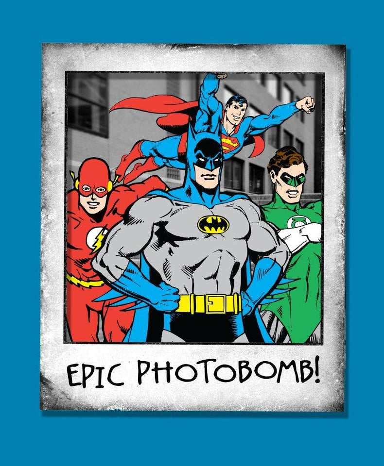 DC Comics Justice League Photobomb Boys T-Shirt