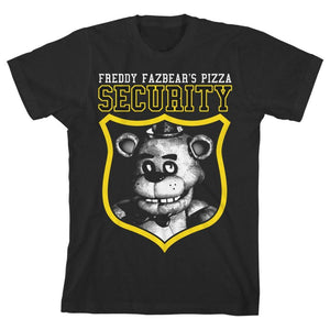 Five Nights at Freddy?s Security Guard Boys T-shirt - Superhero Supervillain - United States - superherosupervillain.com