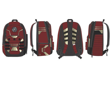 Marvel Iron Man Backpack Iron Man Backpack w/ BuiltUp Design - Superhero Supervillain - United States - superherosupervillain.com