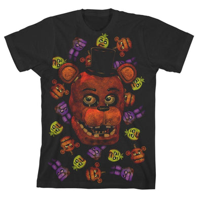 Five Nights at Freddy?s Character Boys T-shirt - Superhero Supervillain - United States - superherosupervillain.com