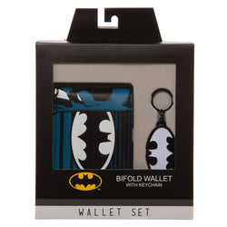 DC Comics Batman Bifold Wallet with Keychain - Superhero Supervillain - United States - superherosupervillain.com